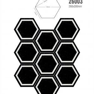 Gạch bông lục giác 22