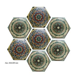 Gạch bông lục giác 26 – Bohemian