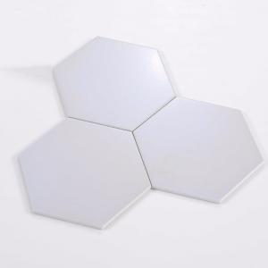Gạch bông lục giác 04 – Trắng ghi