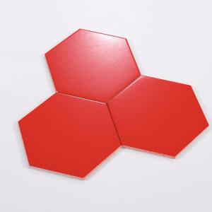 Gạch bông lục giác 06 – Đỏ