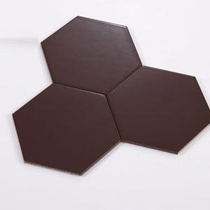 Gạch bông lục giác 09 –  Socola