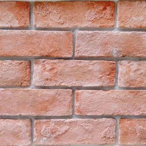 Gạch ốp tường giả cổ 26 – Hồng cam