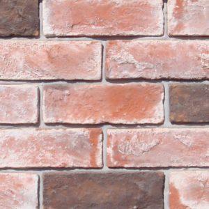 Gạch ốp tường giả cổ 29 – Trắng đỏ