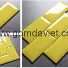 Gạch thẻ trang trí nhập khẩu 05 – Vàng chanh