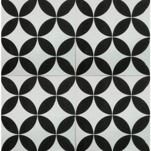 Gạch bông ceramic 30×30 25 – Men bóng