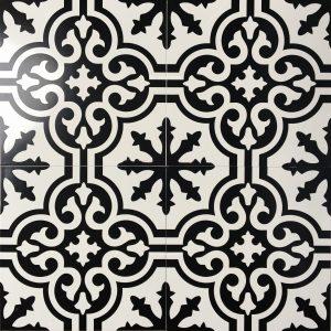 Gạch bông ceramic 30×30 28 – Men mờ