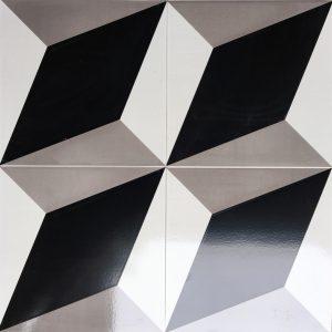 Gạch bông ceramic 30×30 30 – Men mờ