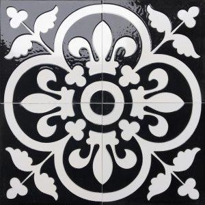 Gạch bông ceramic 30×30 33 – Men bóng