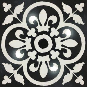 Gạch bông ceramic 30×30 34 – Men mờ