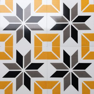 Gạch bông ceramic 30×30 36 – Men mờ