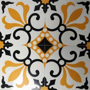 Gạch bông ceramic 30×30 37 – Men mờ