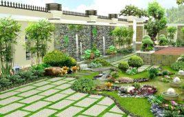 Cách chọn gạch lát sân vườn đẹp và hợp phong thủy gia chủ