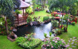 Giải đáp thắc mắc sân vườn gồm những gì