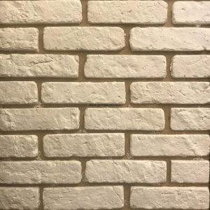 Gạch ốp tường giả cổ 37 – Trắng