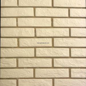 Gạch ốp tường giả cổ 38 – Trắng