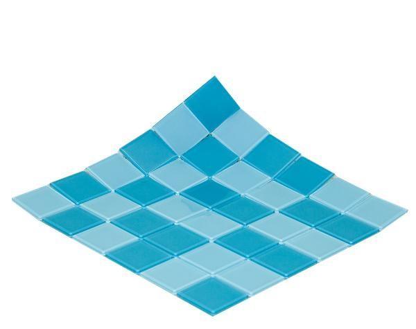 gạch mosaic màu xanh nhạt