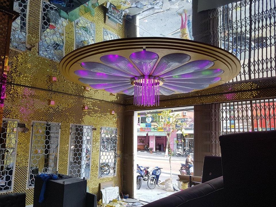 gạch mosaic cho phòng hát karaoke
