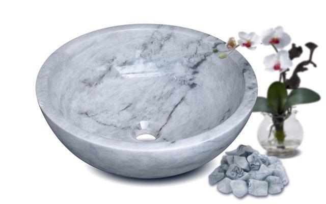 lavabo da tu nhien marble