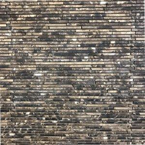 Mosaic đá chữ nhật 01