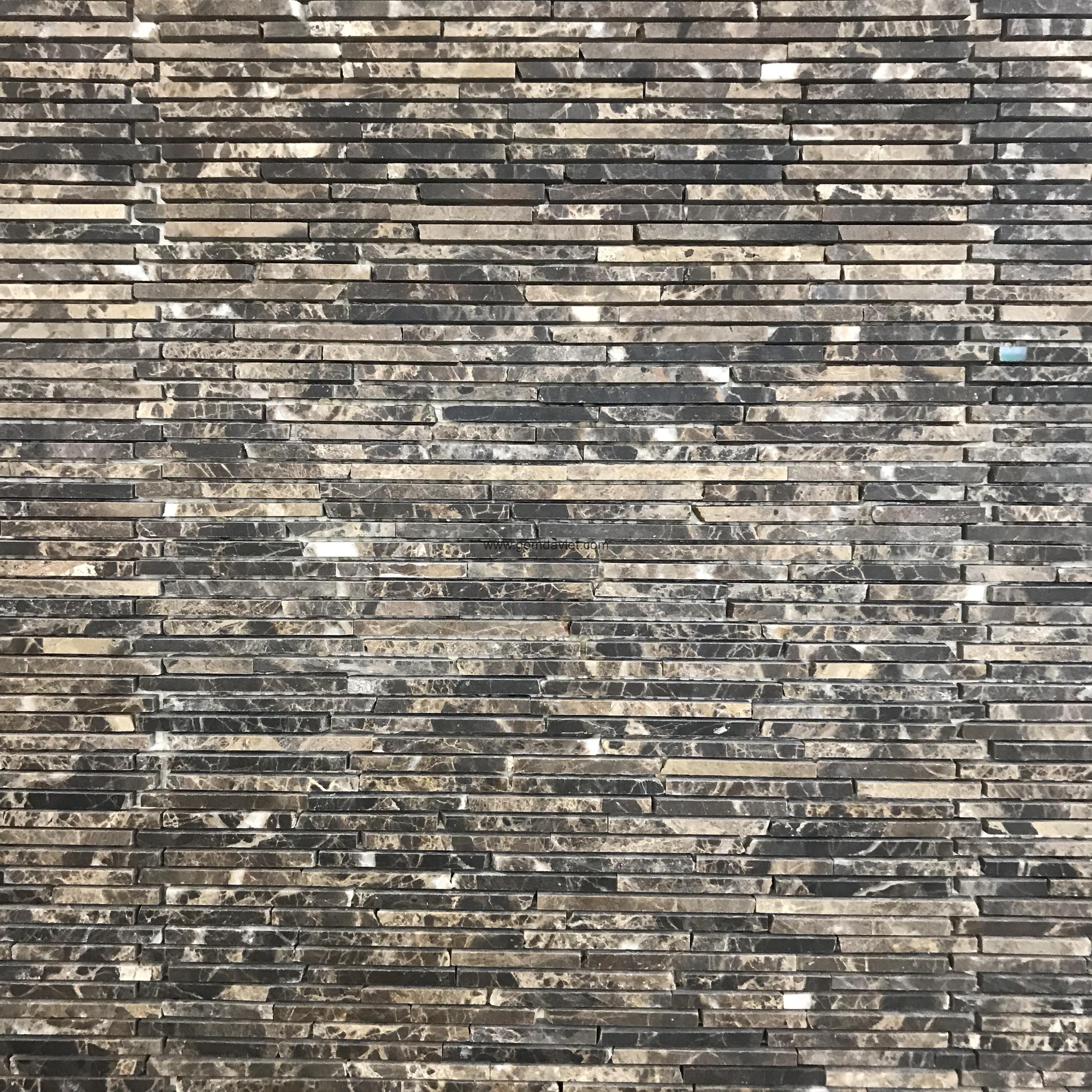 Mosaic đá chữ nhật 1.4