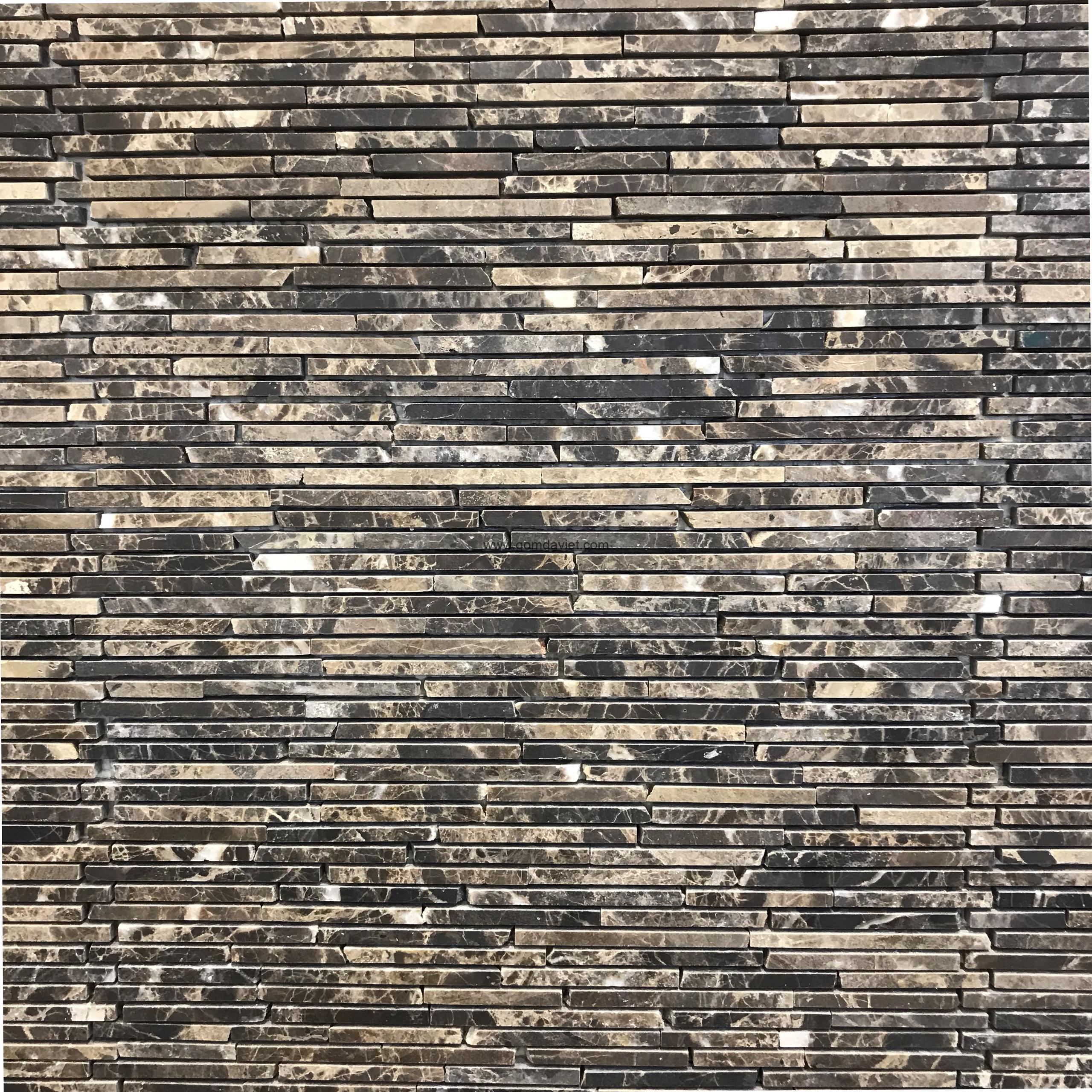 Mosaic đá chữ nhật 1