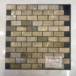 Mosaic đá chữ nhật 10