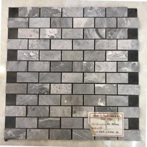 Mosaic đá chữ nhật 11