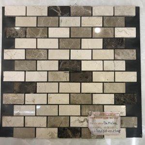 Mosaic đá chữ nhật 12
