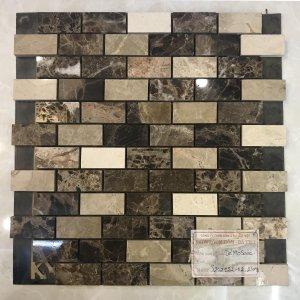 Mosaic đá chữ nhật 13