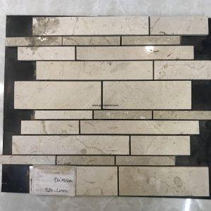Mosaic đá chữ nhật 19