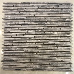 Mosaic đá chữ nhật 03