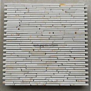 Mosaic đá chữ nhật 04