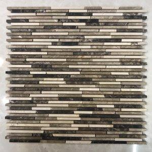 Mosaic đá chữ nhật 05