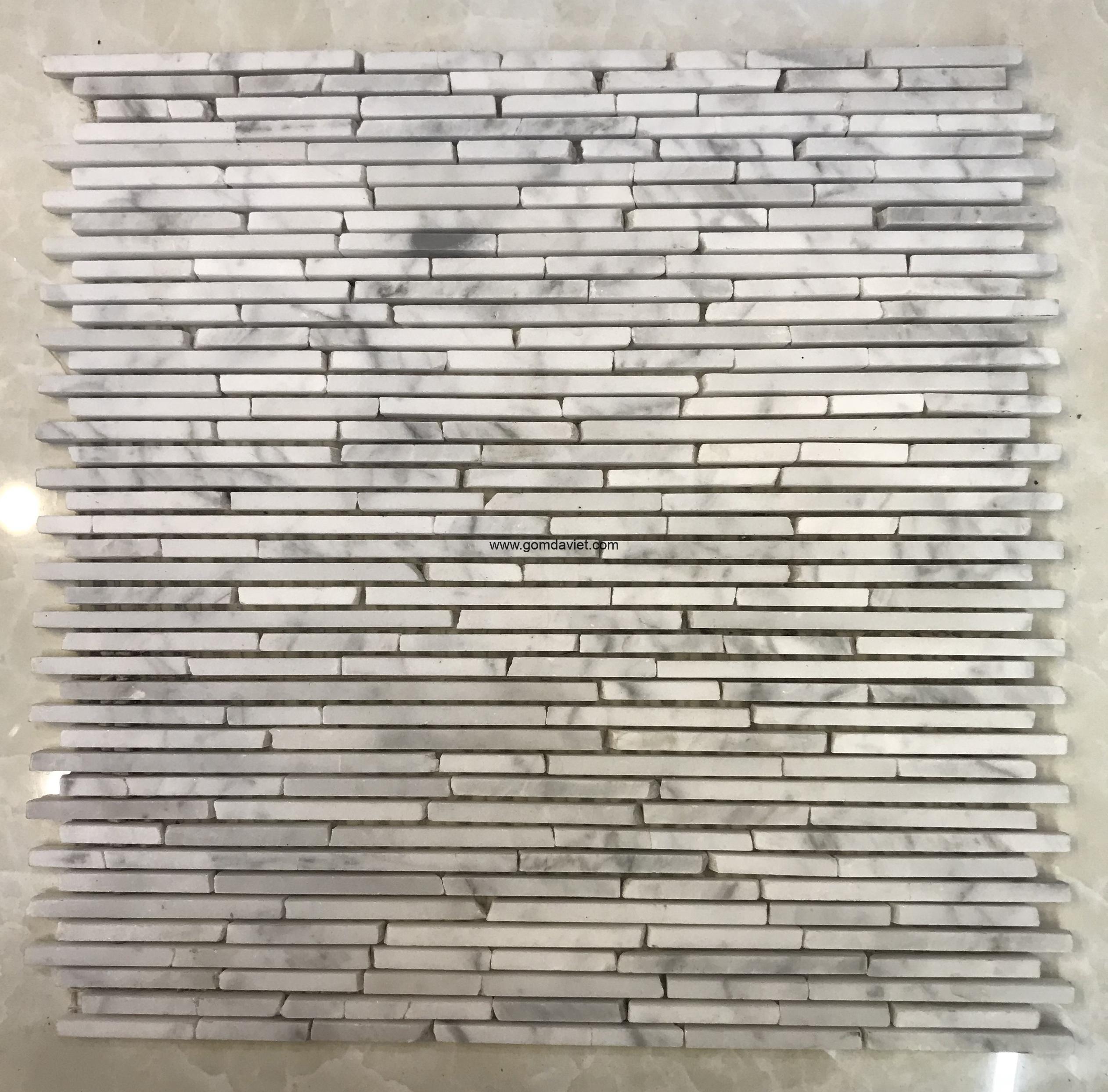 Mosaic đá chữ nhật 6