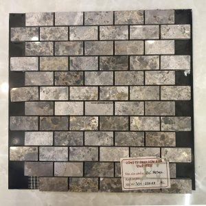 Mosaic đá chữ nhật 09