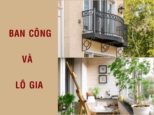 Logia thay cho ban cong chong nong cho tuong nha