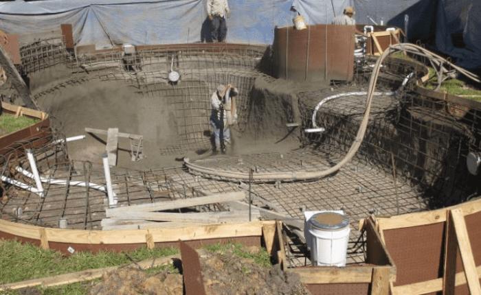 chi phí xây dựng hồ bơi kinh doanh