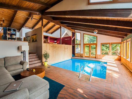 Thiết Kế Bể Bơi Mini Trong Nhà