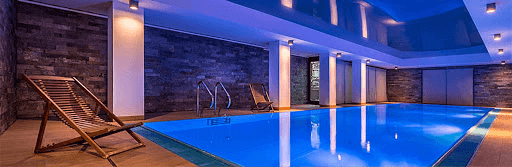 thiết kế bể bơi trên tầng thượng