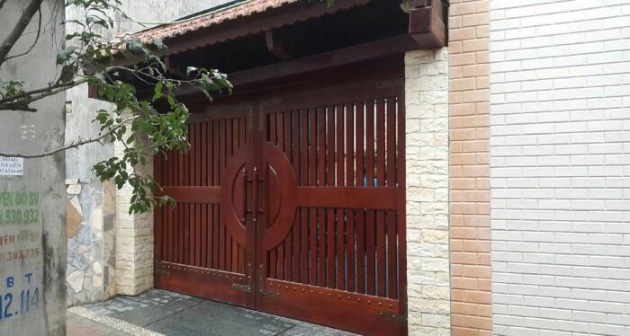 Cổng hàng rào biệt thự hiện đại