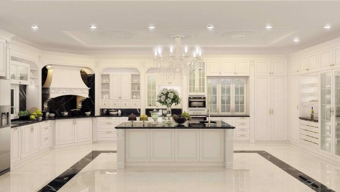 Phòng bếp bao nhiêu mét vuông là hợp lý