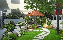 6 Gợi Ý Sân Vườn Biệt Thự Phong Cách Hiện Đại Dành Cho Chủ Nhà