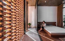 Nhà 2 tầng được cải tạo từ kho chứa đồ thành cực phẩm