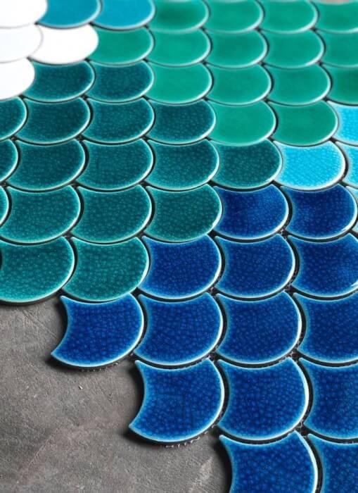 Địa chỉ phân phối gạch mosaic vảy cá chất lượng, uy tín, giá phải chăng