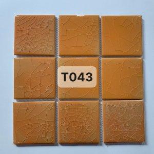 Gạch mosaic men rạn đơn màu 100×100 22