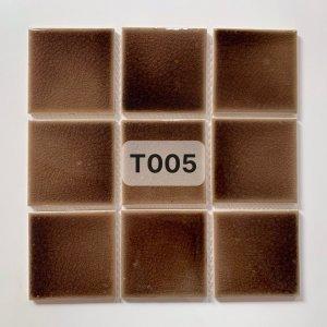 Gạch mosaic men rạn đơn màu 100×100 23