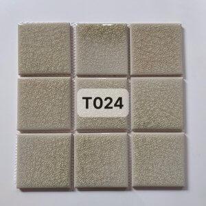 Gạch mosaic men rạn đơn màu 100×100 24