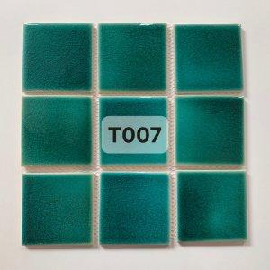 Gạch mosaic men rạn đơn màu 100×100 21