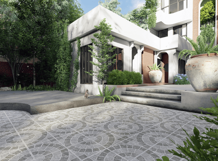 Kinh nghiệm lựa chọn gạch lát sân vườn bền đẹp, giá rẻ