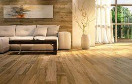 Top mẫu gạch ốp tường phòng khách giả gỗ, vân gỗ đẹp mới nhất hiện nay